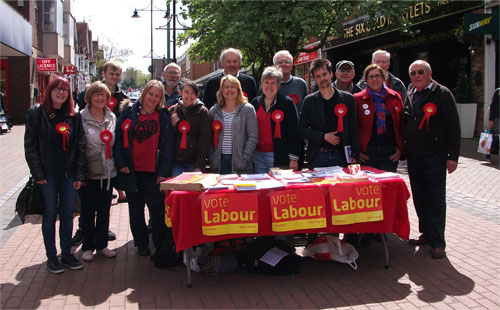 Mid Sussex Labour members