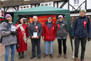 East Grinstead NHS Campaign Day